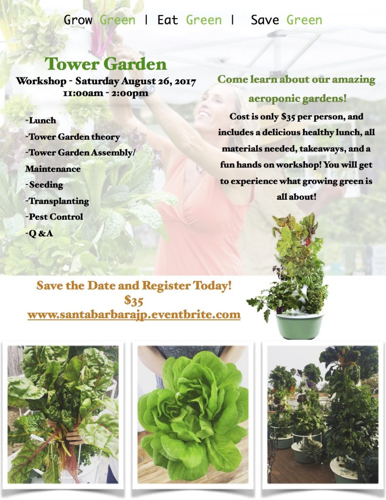 Tower Garden Workshop And Luncheon